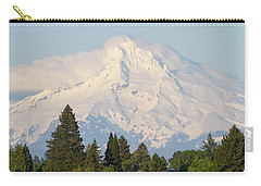Clouds Over Mount Hood Closeup Carry-all Pouch