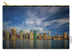 Clouds Over New York Carry-all Pouch by Rick Berk
