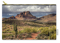 Clouds Over Red Mountain Carry-all Pouch