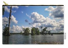 Clouds Over The Louisiana Bayou Carry-all Pouch