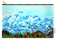 Clouds Over Vilano Beach Carry-all Pouch