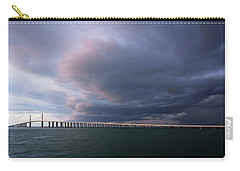 Clouds Roll Over Sunshine Skyway Carry-all Pouch