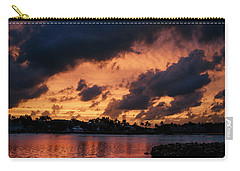 Carry-all Pouch featuring the photograph Cloudscape by Laura Fasulo