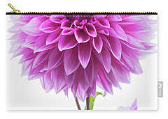 Cloudy Day Dahlia Carry-all Pouch by Mark Alder
