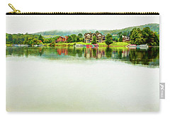Cloudy Day On The Lake Carry-all Pouch