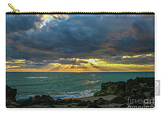Cloudy Morning Rays Carry-all Pouch