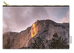 Cloudy Sunset Horsetail Falls Carry-all Pouch