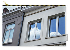 Carry-all Pouch featuring the photograph Cloudy Windows by Ana Mireles