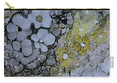 Carry-all Pouch featuring the painting Cloudy With A Chance Of Sunshine by Joanne Smoley