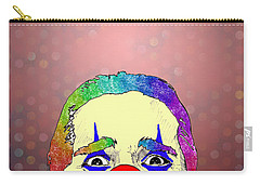 clown Christian Bale Carry-all Pouch