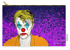 Clown David Bowie Carry-all Pouch