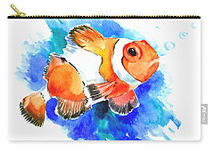 Clownfish Carry-all Pouch by Suren Nersisyan