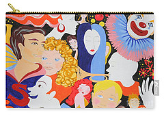 Send In The Clowns Carry-all Pouch
