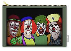 Clowns Carry-all Pouch by Megan Dirsa-DuBois