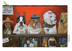 Club K9 Carry-all Pouch by Leah Saulnier The Painting Maniac