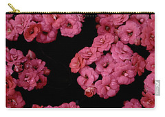 Clusters Of Pink Carry-all Pouch