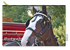 Clydesdale At Esp Carry-all Pouch by Alice Gipson