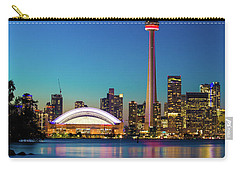 Cn Tower Rogers Centre Toronto  Carry-all Pouch by Mariusz Czajkowski