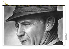 Coach Tom Landry Carry-all Pouch by Greg Joens