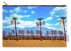 Coachella Date Palms Carry-all Pouch
