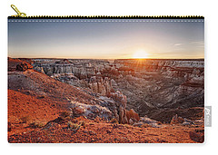 Coal Mine Canyon Sunrise Carry-all Pouch by David Cote