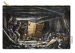 Coal Mine Explosion, 1873 Carry-all Pouch