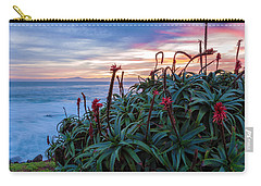 Coastal Aloes Carry-all Pouch by Jonathan Nguyen