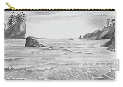 Coastal Beach Carry-all Pouch by Terry Frederick