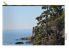 Carry-all Pouch featuring the photograph Coastal Beauty by Living Color Photography Lorraine Lynch