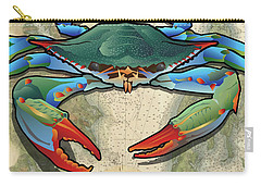 Coastal Blue Crab Carry-all Pouch