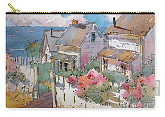 Coastal Cottages Carry-all Pouch