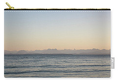 Coastal Mountains At Sunrise Carry-all Pouch