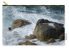 Coastal Rocks Trap Water Carry-all Pouch by Margaret Brooks