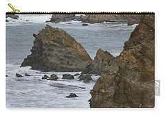 Coastal Storm Carry-all Pouch by Laddie Halupa