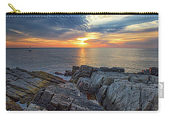 Coastal Sunrise On The Cliffs Carry-all Pouch