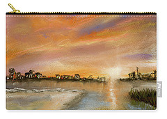 Coastal Sunset Carry-all Pouch by Barry Jones