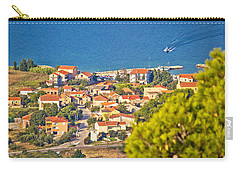 Coastal Village On Island Of Pasman Carry-all Pouch
