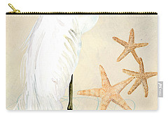 Coastal Waterways - Great White Egret Carry-all Pouch