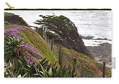 Coastal Windblown Trees Carry-all Pouch