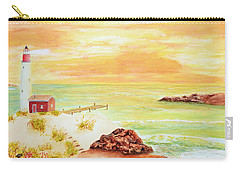 Coastline Lighthouse Carry-all Pouch