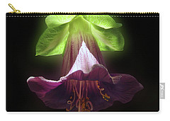 Cobaea Scandens Glowing Carry-all Pouch