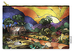 The Shepherd's Cottage Carry-all Pouch