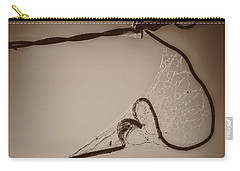 Cobwebs On My Heart Carry-all Pouch by Mary Hone