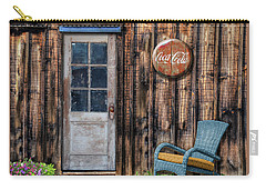 Carry-all Pouch featuring the photograph Coca Cola by Paul Wear