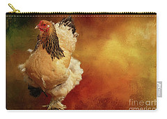 Cochin Chicken Carry-all Pouch by Eva Lechner
