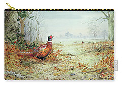 Cock Pheasant  Carry-all Pouch by Carl Donner