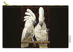 Cockatoo Conversation Carry-all Pouch