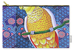 Cockatoo Carry-all Pouch by Jane Tattersfield