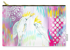 Cockatoos Carry-all Pouch by Cathy Jacobs