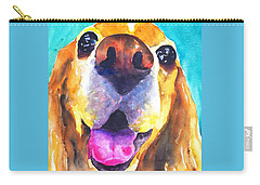 Cocker Spaniel Dog Smile Carry-all Pouch